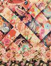 picture of Art Silk Fancy Dupatta In Beige With Digital Print
