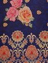 picture of Art Silk Navy Blue Fancy Dupatta With Digital Print