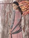photo of Pink Printed Casual Wear Palazzo Dress In Crepe Fabric