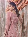 photo of Pink Casual Wear Printed Crepe Fabric Palazzo Suit