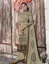 image of Crepe Fabric Printed Daily Wear Palazzo Dress In Cream