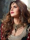photo of Zarine Khan Festive Wear Silk Lehenga Choli-22001