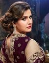 photo of Zarine Khan Festive Wear Net Lehenga Choli-22007