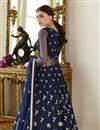 photo of Designer Function Wear Floor Length Anarkali Dress In Net Fabric