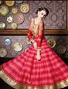photo of Ready to Ship Pink Crepe Silk Festive Wear Anarkali Salwar Suit