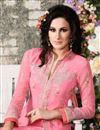 photo of Pink Designer Party Wear Georgette Salwar Suit