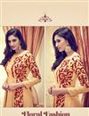 photo of Chikoo Color Designer Georgette Anarkali Suit With Marvelous Embroidery Work
