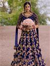 image of Festive Wear Floor Touch Anarkali Salwar Suit