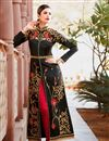photo of Alluring Black Color Designer Embroidered Anarkali Suit