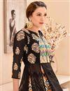 photo of Unstitched Multi Color Designer Sharara Top Lehenga With Digital Print On Banglori Satin Fabric Featuring Gauhar Khan