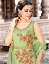 photo of Embellished Function Wear Cotton Anarkali Dress