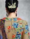 photo of Beige Color Cotton Satin Tantalizing Pakistani Style Palazzo Suit