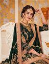photo of Mesmeric Green Color Designer Party Wear Viscose Salwar Kameez