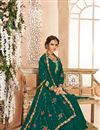 photo of Wedding Wear Designer Anarkali Dress With Embroidery Work
