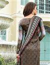 photo of Designer Straight Cut Salwar Kameez In Multi Color  Satin Fabric