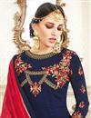 photo of Floor Length Georgette Fancy Anarkali Salwar Kameez