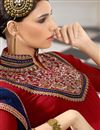 photo of Red Georgette Designer Pakistani Salwar Suit