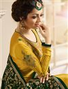 photo of Drashti Dhami Occasion Wear Mustard Embroidered Straight Cut Salwar Kameez In Satin And Georgette Fabric