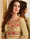photo of Art Silk Designer Sharara Top Embellished Lehenga Choli