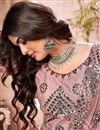 photo of Wedding Wear Net Fabric Fancy Work Lehenga Choli In Pink Color
