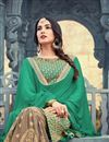 photo of Sonal Chauhan Green Embellished Sharara Suit