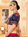 photo of Best Selling Art Silk Embellished Wedding Function Wear Lehenga