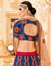 picture of Best Selling Art Silk Embellished Wedding Function Wear Lehenga