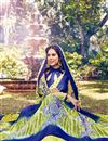 image of Green Georgette Saree with Art Silk Blouse