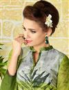 photo of Ready To Ship Lawn Cotton Straight Cut Green Color Printed Casual Punjabi Salwar Kameez