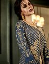 photo of Ready To Ship Designer Embroidered Long Anarkali Dress In Art Silk