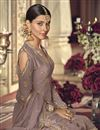 photo of Pink Designer Fancy Sharara Suit In Georgette From Mother Daughter Collection