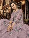 photo of Designer Function Wear Pink Color Net Fabric Embroidered Floor Length Anarkali Suit