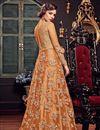 photo of Net Fabric Long Floor Length Designer Embellished Anarkali Suit