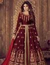 image of Shamita Shetty Designer Embroidered Fancy Sharara Top Lehenga In Art Silk