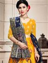 photo of Art Silk Fabric Wedding Wear 3 Piece Lehenga In Yellow Color With Weaving Work