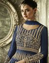 photo of Festive Special Designer Long Anarkali Suit In Art Silk With Embroidery Work