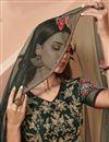 photo of Dark Green Color Wedding Function Wear Embroidered Lehenga Choli In Net Fabric