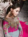 photo of Grey Georgette Designer Pakistani Salwar Suit
