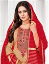 photo of Embroidered Office Wear Salwar Kameez In Cream Color Cotton Fabric