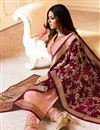 photo of Drashti Dhami Pink Straight Cut Salwar Suit In Georgette With Dupatta