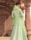 photo of Occasion Wear Green Color Embroidered Readymade Anarkali Salwar Kameez