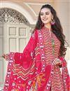 photo of Art Silk Fabric Party Wear Readymade Anarkali Salwar Suit