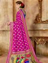 photo of Function Wear Pink Fancy Art Silk Weaving Work Saree