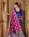 photo of Function Wear Fancy Art Silk Saree In Pink