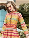 photo of Multi Color Printed Readymade Anarkali Salwar Kameez