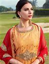 photo of Taffeta Silk Function Wear Embroidered Readymade Anarkali Suit