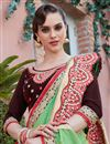 photo of Designer Function Wear Fancy Embroidered Saree In Art Silk
