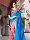 image of Embellished Fancy Wedding Function Wear Saree In Georgette