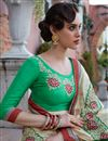 photo of Embellished Fancy Wedding Function Wear Saree In Georgette
