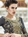 photo of Grey Pakistani Style Georgette Salwar Kameez